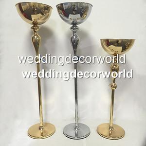 نمط جديد الذهب الزفاف محور الزفاف الجدول زهرة حامل إناء الممشى حامل الممر ديكور petestal حامل الزفاف عمود decor507