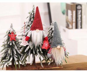 Noel Santa Süsleri Masa Süslemeleri Noel Ağacı Süsleme Noel Şimdiki Hediyeler Şenlikli Parti Yüksek kaliteli Decorations Malzemeleri