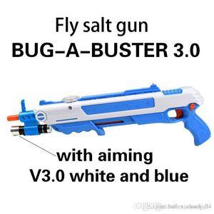 Pistola de sal bug creativo una sal balas del arma de Airsoft Sal Pimienta Blaster para el bug Blow regalo pistola de juguete Mosquito Modelo GunChristmas