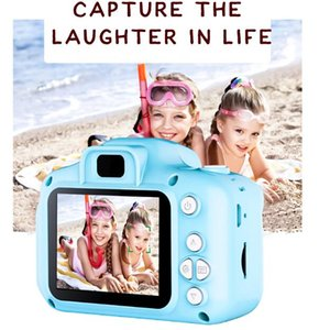 Kids Camera Children Mini Digital Camera Cute Cartoon Cam X2 camera Toys for Birthday Gift 2 Inch Screen Cam Take Pictures kids toys BY1491