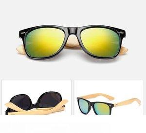 MOQ=10 summer Men's Radiation bamboo Sunglasses cycling glasses driving glasses woman moso bamboo driving sun glasses 22colors