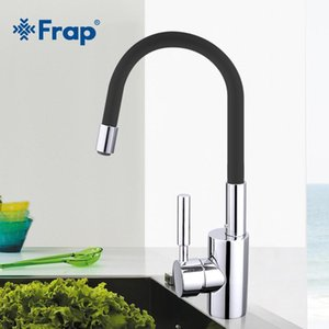 Frap New Arrival 7-color Silica Gel Nose Any Direction Rotation Kitchen Faucet Cold and Hot Water Mixer Torneira Cozinha F4053 T200423