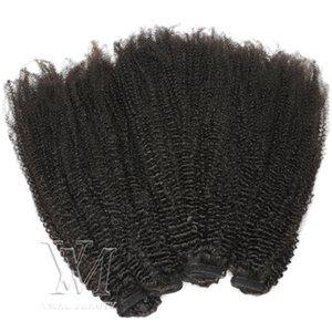"""VMAE Brésilien Pérou Indien cheveux 12"""" à 26"""" pouces 120g couleur naturelle 4A humain Ponytail haute qualité humaine Extension"""