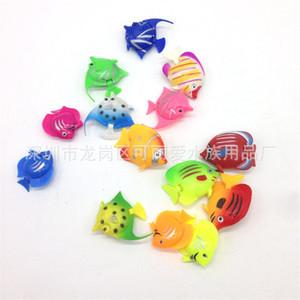 플라스틱 시뮬레이션 물고기 장난감 거짓 물 열 램프 수족관 장식 열대 물고기 장난감 다양한 패턴 0 34sl J1