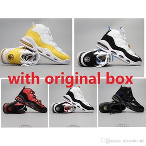Cheap meados barragem de ar mais uptempo sapatos 95 homens de basquete retro para venda lebron 17 KD 16 Scottie Pippen max tênis botas 7-12