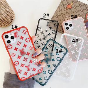 Téléphone cellulaire cas de téléphone portable de luxe Designer Accessoires Acrylique 7 couleurs Fitted métal GG Protector Livraison gratuite