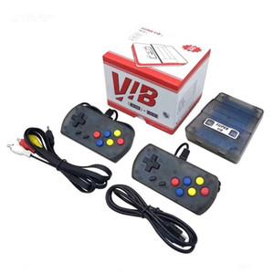 Vibração Mini console de jogos portáteis pode armazenar 169 jogos Super VIB console de jogos de TV portátil gampad dual handheld game player