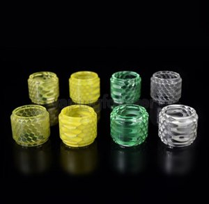 V8 Resin Tube Replacement Glass Tube Snake Honeycomb Resin Replacement Tube Big Capacity For V8 Baby V12 PRINCE Tank Atomizers
