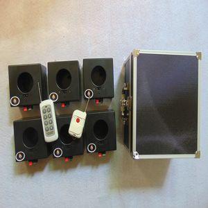 6 Cues Fireworks розжига система подключения провода горячей залпового огня свадебный этап 433MHZ водонепроницаемый Box Двойной пульт дистанционного управления фейерверк