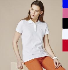 2019 timsah Polo Gömlek Kadın Kısa Kollu Casual Gömlek adamın Katı Polo Gömlek Artı Camisa Polo Erkekler Peru bayan giyim
