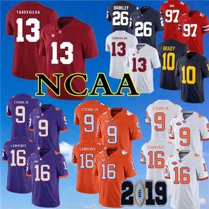 2019 NCAA كليمسون تايجرز 16 تريفور لورانس جيرسي 9 ترافيس إتيان جونيور ألاباما قرمزي تايد 13 توا تاغوفيلوا بطولة بطولة باتش