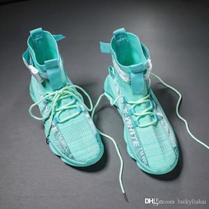 Nouveau Paris Speed Trainers Tricot Chaussette Chaussure Original De Luxe Designer Hommes Femmes Baskets Pas Cher Haute Haute Qualité Casual Chaussures Avec La Boîte
