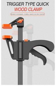 4-Zoll-Schnell Ratchet Veröffentlichungs Geschwindigkeit Squeeze Holzbearbeitung Arbeits Bar Clamp Clip Kit Spreader Gadget-Werkzeug DIY Hand Holzbe-