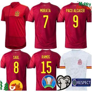 Tayland İspanya Forması Futbol Forması 18 19 20 Francisco Alcácer ASENSIO Morata ISCO INIESTA THIAGO SAUL 2019 2020 Yetişkin erkek çocuklar Spor Footba
