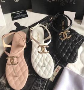 2018 Новая Европа США новые пластиковые цепи пляж обувь конфеты цвет желе сандалии цепную плоским дном сандалии из