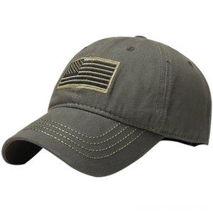 Erkekler Nakış ABD Bayrağı Yürüyüş Spor Caps Headwears Atletik Açık Çantalar Ordu beysbol kasketi Şapka Kamp Kamuflaj Balıkçılık Tac