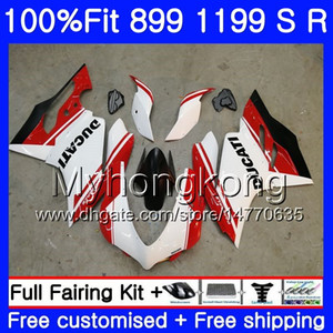 Injection For DUCATI 899 1199 Panigale S R 2012 2013 2014 2015 2016 factory white 325HM.50 899R 1199R 899S 1199S 12 13 14 15 16 OEM Fairing
