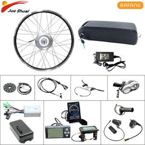 BAFANG 48V 500W eBike Conversion Kit Front Rack Motor Wheel Brushless Gear Hub Motor with Battery & Taillight USB Electric