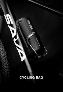 WILD MAN Bicycle Kit Tool Tank هارد شل ماء زجاجة إصلاح مجموعة أدوات ركوب الخيل معدات (حقيبة فارغة)