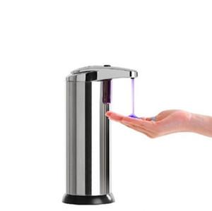 단일 스위치 자동 비누 디스펜서 스테인레스 스틸 적외선 센서 비누 디스펜서 휴대용 액체 비누 디스펜서 IIA198