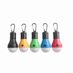 5 ألوان 3LED التخييم مصباح الطوارئ أضواء في الهواء الطلق خيمة مصابيح عيد الميلاد الديكور المعلقة أضواء الفوانيس المحمولة الأثاث ZZA2338