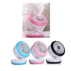 Портативный USB перезаряжаемые мини удобный кулер охлаждающий вентилятор стол карманные водяной туман вентилятор охлаждения увлажнитель воздуха использовать как powerbank