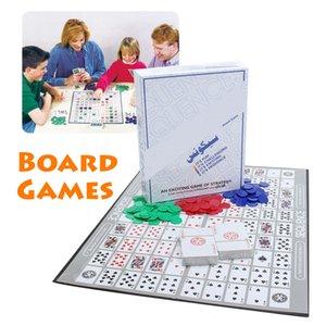 Brettspiele Challenge Sequence Strategy Card Für 2-12 Spieler Family Fun Game Strategy Card Aufregende Multiplayer-Desktop-Spiele SH190907