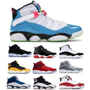 Sei 6 6S anelli di basket Scarpe Jumpman 2020 Momenti di taxi Concord Space Jam South Beach Confetti Definizione luce blu per le donne Mens Sneakers