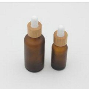 US 322 5 OFFBrown Glass Essential Oil Dropper Bottle With Black Aluminum Cap Refillable Empty Cosmetic Containers Medicine Dropper home2010