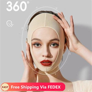 Delicate Facial Slimming Bandage Skin Care Belt Shape And Lift Reduce Double Chin Face Mask Face Thining