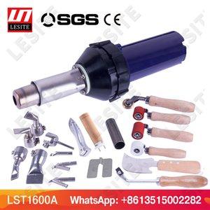 LST1600A plástico de soldadura de aire caliente pistola de calor antorcha arma de la pistola de vinilo PVC soldador piso para PP PE hoja geomembrana depósito de agua