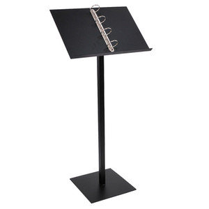 Metal Stainless Steel Landing Menu Rack Restaurant Door Menu Poster Floor Stand Vertical Literature Propaganda Display Holder