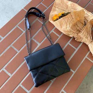 2020 new high quality one shoulder PU leather briefcase large handbag cross ladies Messenger chain envelope tote bag