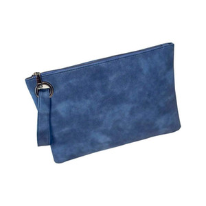 Oversized Clutch Bag Purse, Women's PU Leather Evening Wristlet Handbag Pouch