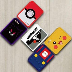 Nintend Cambie la tarjeta de juego Animal Crossing Caso Caja de almacenamiento para Nintendo Switch / Lite juego de cartas caso de Shell duro portátil