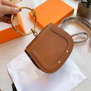 Anillo caliente bolso de lujo del monedero chloy diseñador de la marca bolso de la manera bolso del diseñador de las señoras del bolso del cubo Roy