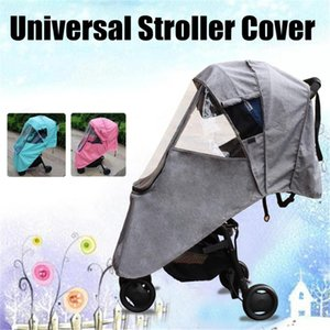 Raincoat for All Stroller Wheelchair Prams Plus Stroller Accessories Strollers Rain Cover Universal Baby Throne Carriers For Kid