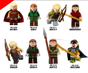 wholesale Super Heroes The Lord of the rings, the Hobbit Prince of elves Children Gift Toys wholesale PG8027 zdl0705.