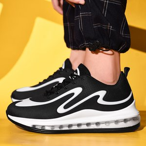 Erkekler Moda Sneakers Karışık Renk Günlük Ayakkabılar Tam Hava Yastık Spor Eğitim Ayakkabı