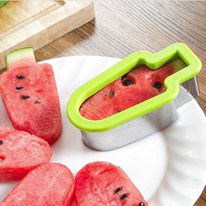 DIY Creative Multifonctionnel pastèque Slicer Fruit Cookie Cutter moule cuisine Chopper Outils de bricolage fruits légumes trancheuse WX9-1908