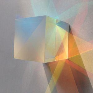 Freeshipping 12 PCS 2.5X2.5X2.5 CM Defective Cruz Dicroic X-Cube Prisma Combinador RGB ou Splitter Prisma