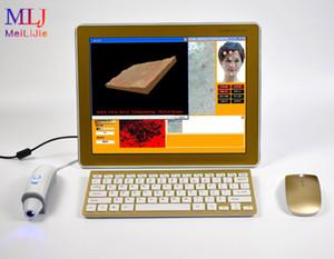 2019 venta caliente equipo ligero 3D análisis profesional de la cámara digital de la piel prueba de la piel del rostro y UV para la clínica