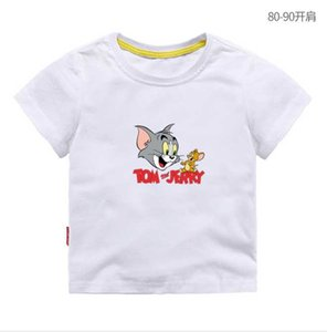 New Summer Children Short sleeves T-shirt Boys Tops Brands Solid Color Tees Kids t Shirt Girls Classic Clothing T1100
