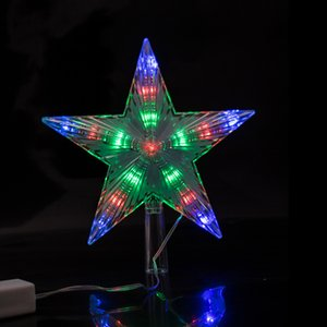 Coversage Tree Top Star String Fairy Lights Curtain Led Christmas Xmas Wedding Decoration Party Garden Holiday Y200603