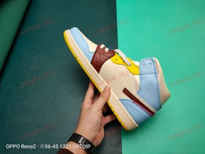 xshfbcl high quality 2020 New 1 High Mid Fearless Basketball Shoes 11 Bred in Full Family Sizing Women Mens Fashion progettista Sneakers 36-