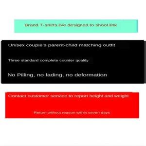 라이브 특수 촬영 링크 100t 셔츠 코튼 T 셔츠 % 순면의 T 셔츠는 더 칠일에게 돌아올 수없는 이유 또는 교환을 퇴색하지 필링