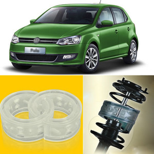 2pcs Power Front  Rear Shock Suspension Cushion Buffer Spring Bumper For Volkswagen Polo