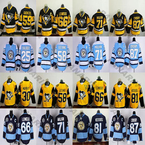 New Pittsburgh Penguins 87 Sidney Crosby 71 Evgeni Malkin 58 Kris Letang 59 Jake Guentzel 66 Lemieux 81 Phil Kessel Rbk Hockey Jerseys