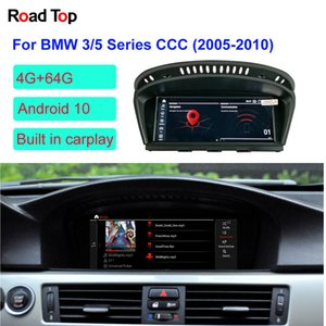 "8.8 ""BMW 시리즈 3/5 E60 자동차 2005년부터 2010년까지 터치 스크린 스테레오 대시 멀티미디어 플레이어 안드로이드 10 OS GPS 네비게이션 디스플레이"