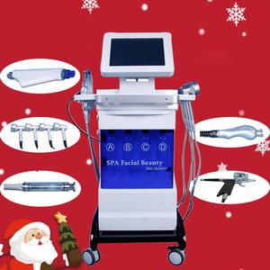 8 in 1 Diamond Microdermabrasion macchina di bellezza spray all'ossigeno rimozione di punti neri Acqua Dermoabrasione Aqua Peeling attrezzature SPA idratanti
